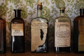 old medical bottles