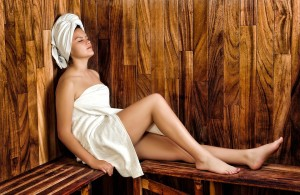 remove toxins with a sauna